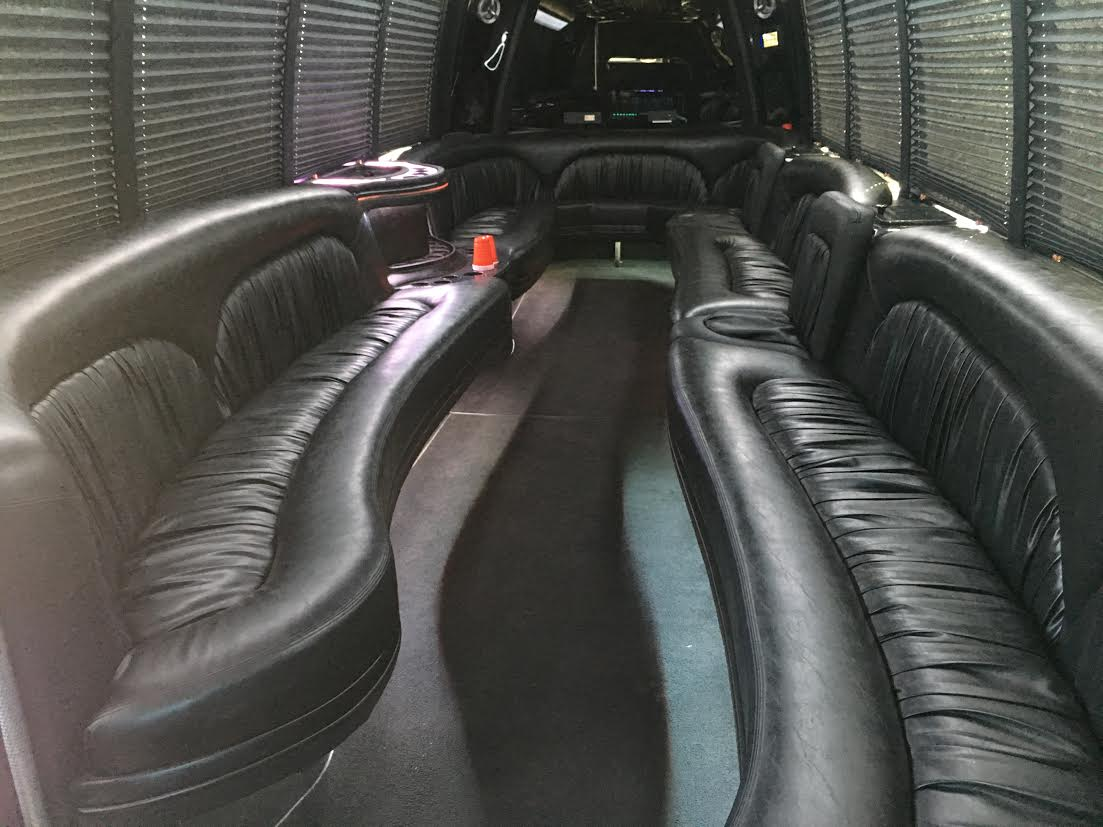 25 passenger Party Limo Bus interior 3 1