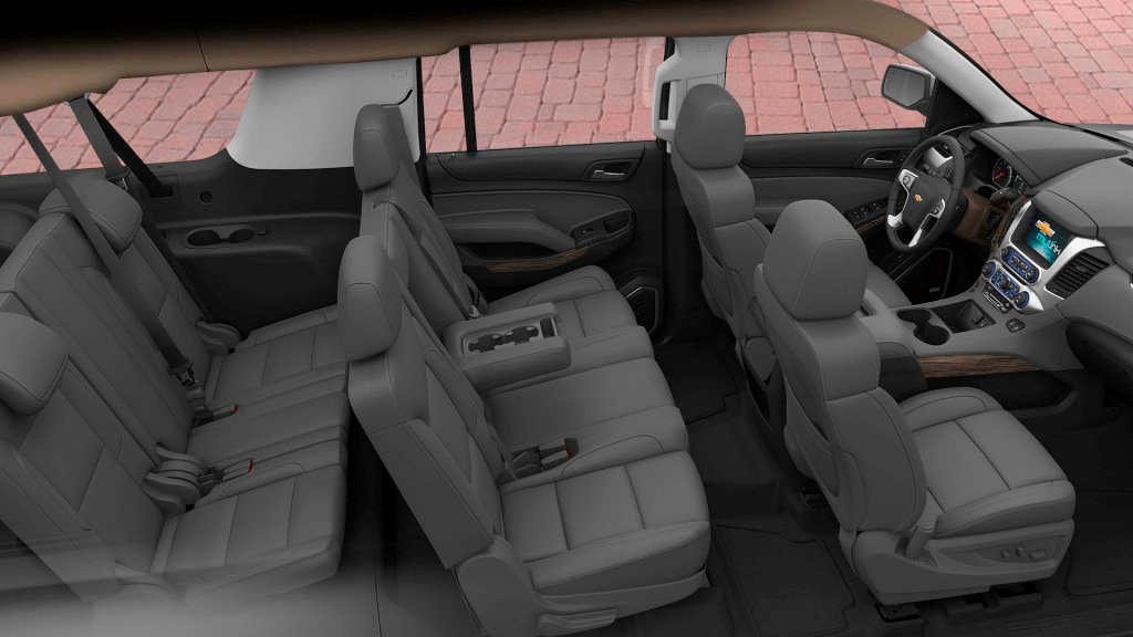 Chevy Suburban interior